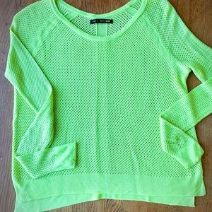 Rag & Bone Neon Knit Top